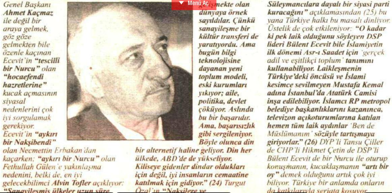 26 mart 1996 ecevit- gülen
