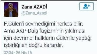Özellikle fillî çatışmayı destekleyen yazıları ile bilinen PKK'lı Kamil Yanar