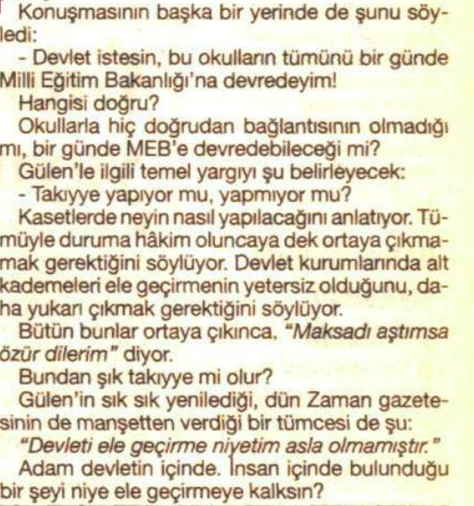 fethullah gülen mustafa balbay 2 haziran 1999 2