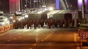 15 Temmuz günü darbeci askerler köprüyü kapatarak sivillerin üzerine ateş açtılar.