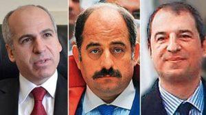 17 Aralık darbe girişimi savcıları Mehmet Yüzgeç, Zekeriya Öz ve Celal Kara