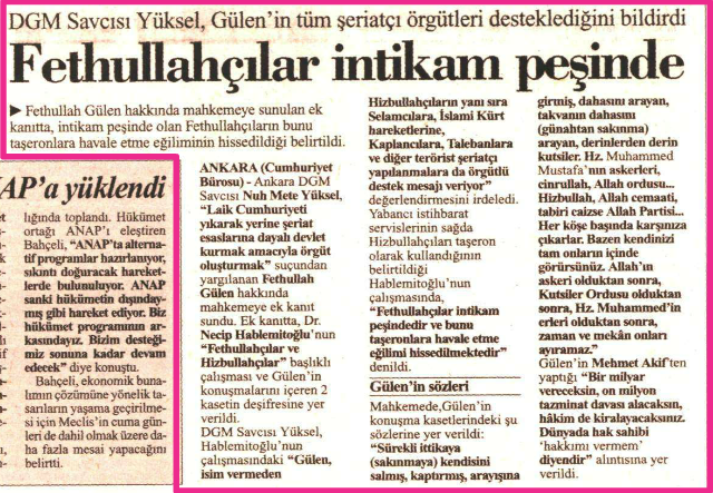 savcı olayı 3 nisan 2001