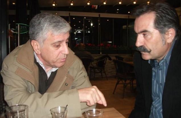 Cem Aziz Çakmak (solda)