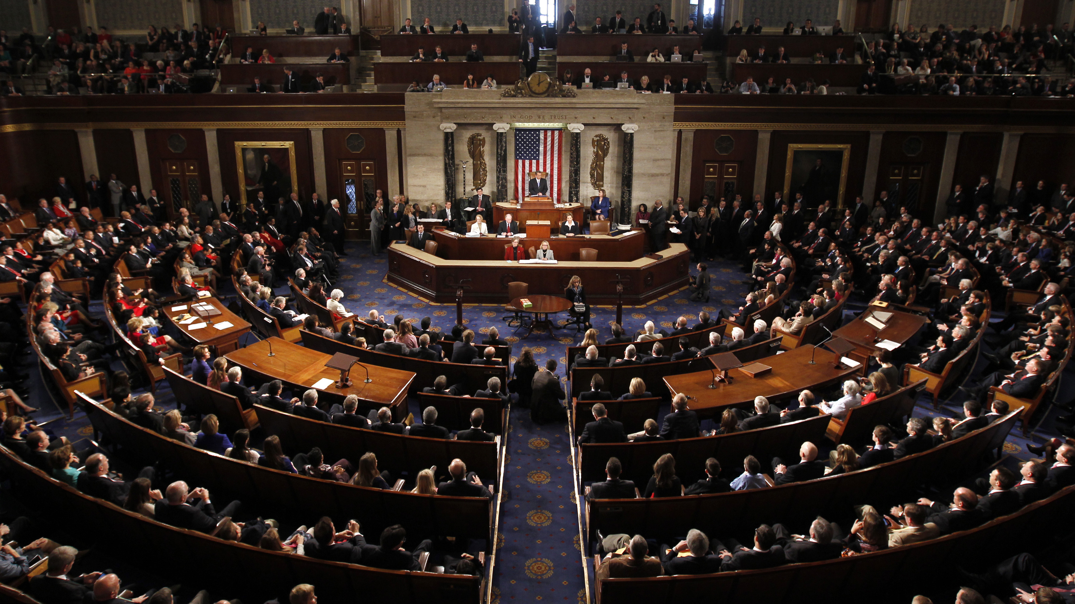 The House of Representatives (Jan. 3 file photo).
