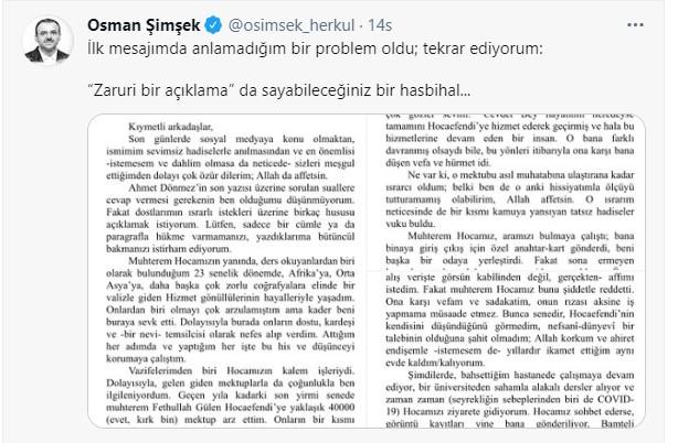 Cevdet Türkyolu ile Osman Şimşek